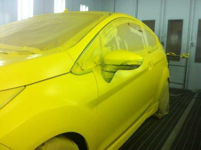 Покрытие авто жидкой резиной