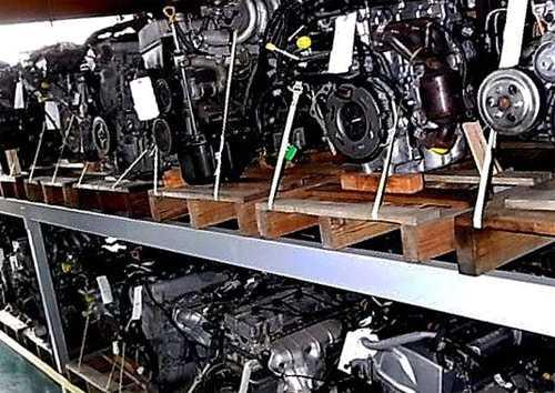 Двигатели контрактные