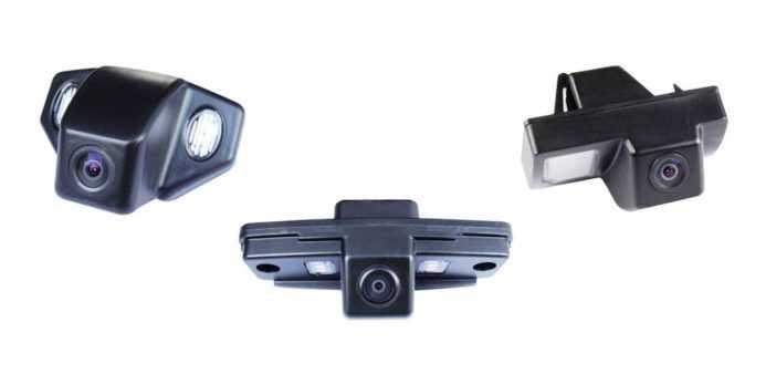три парковочные камеры