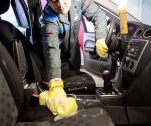 работы по химчистке авто