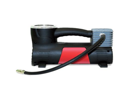 автомобильный компрессор вид сбоку