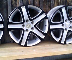 белые колесные диски