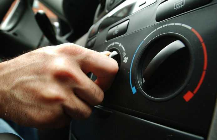 настройка температуры в авто