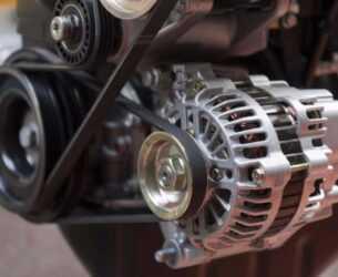 генератор на двигателе