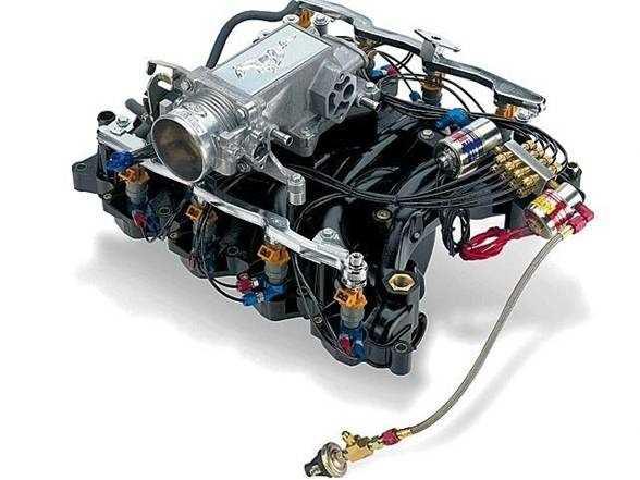 двигатель с инжектором