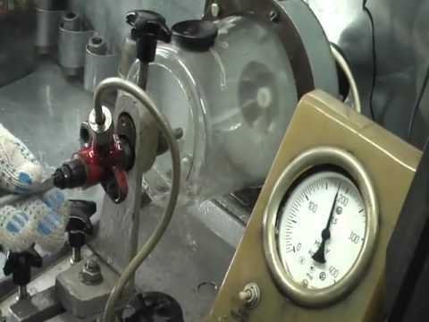 проверка форсунки манометром