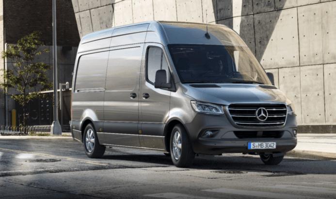 SprinterфургоноткомпанииMercedess-Benz