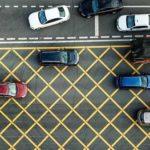 Сетчатая разметка дорог