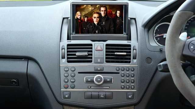 Установка видеооборудования в автомобиле