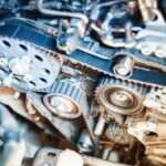 Сборка ремня ГРМ в двигателях GM 1.7D