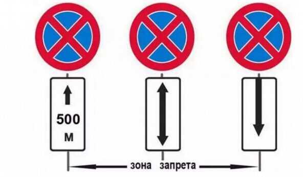"""Дорожный знак """"Остановка запрещена"""" – исключения, штраф и другие нюансы ПДД"""